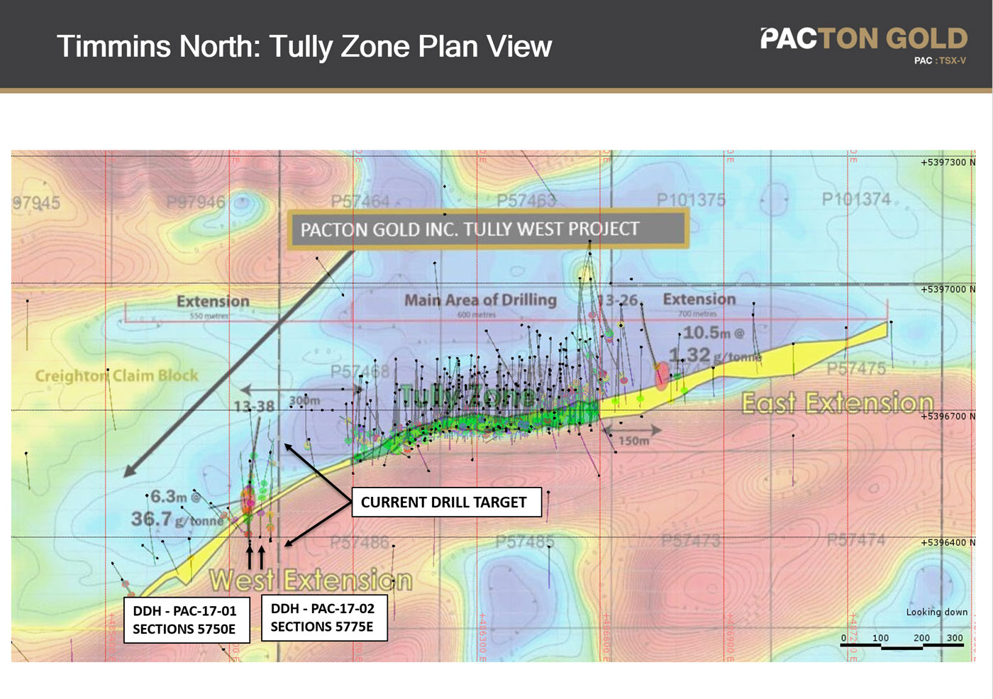 Tully zone drilling
